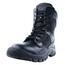 Ridge Outdoors 2008 Nighthawk Black Leather Military Tactical Shoes Boots