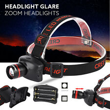 3000LM CREE XM-L Q5 LED Outdoor Headlamp Headlight Flashlight Head Light Lamp UK