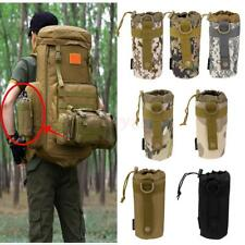 Outdoor Tactical Military MOLLE backpack Water Bottle Holder Kettle Bag Pouch