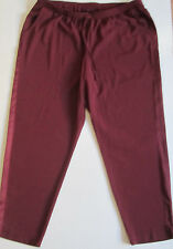 NEW Lane Bryant Tuxedo Burgundy Pants Womens Plus Size 14 16 or size 18 20 NWT