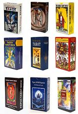 60 Variations of New and Sealed Tarot Card Deck English Instruction Booklet lot