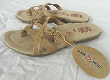 EARTH SPIRIT WINI, WOMENS TAN COLOR SLIDE SANDALS, CHOOSE SIZE 6, 6.5, 9.5, NEW