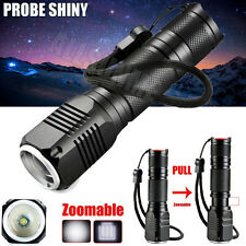 4000LM Zoomable 3 Modes CREE XML Q5 LED 18650/AAA Flashlight Torch Lamp Light UK