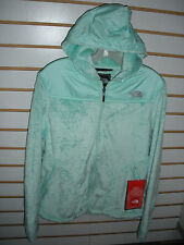 THE NORTH FACE WOMENS OSO HOODIE FLEECE JACKET -#ARHB-B GLASS GREEN -SZ S -NEW