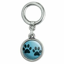 Shoe Sneaker Shoelace Charm Decoration Paw Print Artsy Cat Dog