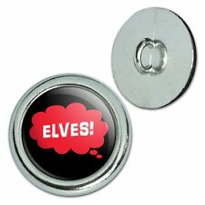Metal Craft Sewing Novelty Buttons Set of 4 Dreaming Of A-F