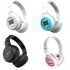 Wireless Bluetooth Headphones Soft Stereo Handsfree Music Player With SD Card