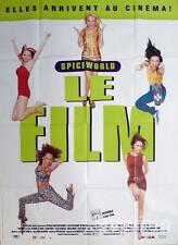 SPICE WORLD - THE SPICE GIRLS MOVIE - ORIGINAL LARGE FRENCH MOVIE POSTER