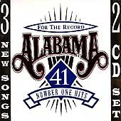 ALABAMA - FOR THE RECORD - GREATEST HITS! 2 DISC CD SET! 44 SONGS! L@@K HERE!