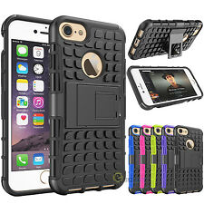 Armor Defender Hybrid Shockproof Dual Layer Kickstand Case Cover for iPhone 7