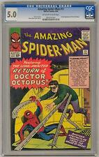 Amazing Spider-Man #11 CGC 5.0 (OW-W) 2nd Doctor Octopus
