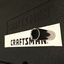 """Craftsman 1/4"""" in DRIVE 6 Pt Point Metric Deep Socket   Wrench- Choose Size"""
