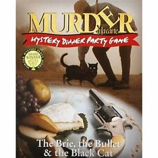 Murder a la Carte The Brie, the Bullet & the Black Cat Mystery Dinner Party Game