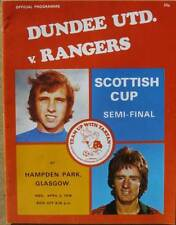 Dundee United v Rangers Scottish Cup Semi Final 1977/78