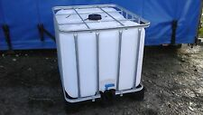 800 LITRE IBC WATER TANK STORAGE DIESEL 1000 and 600 available HEREFORD