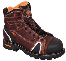 """Thorogood 6"""" Gen Flex Lace-To-Toe Composite Toe 804-4445 Men's Brown Work Boot"""