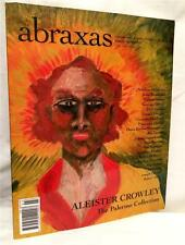 ABRAXAS ESOTERIC STUDIES ALEISTER CROWLEY PALERMO COLLECTION OCCULT MAGIC ART
