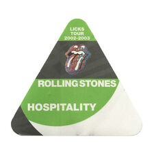 Rolling Stones Green Hospitality 2002-2003 Backstage Pass Licks Tour