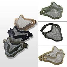 Strike Metal Mesh Half Face Mask Airsoft Outdoor Sports Military Gear Protective