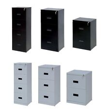Filing Cabinet 2 3 4 Drawer Home Office Heavy Duty A4 Foolscap Suspension Files