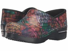 Dansko Professional Stained Glass Patent Leather Nurses/Doctor/Chef Shoes Clogs