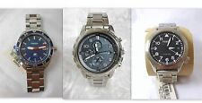 Fossil Men's Chronograph Stainless Steel Watch U Pick Style Dean Aeroflite Diver