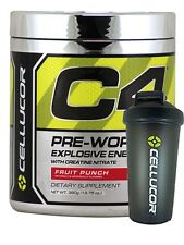 Cellucor C4 Extreme (60 Serving) Pre Workout G4 / 4TH GENERATION + FREE SHAKER