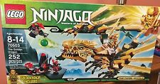 Lego Ninjago The Golden Dragon 70503 Retired New in Box