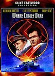 WHERE EAGLES DARE DVD (1968) Clint Eastwood