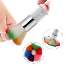 Nail Art Dust Cleaner Acrylic UV Gel Nail Dust Brush Dust Powder Remover Tools