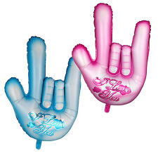 """""""I LOVE YOU"""" Hand Gesture Shape Foil Balloon Birthday Wedding Party Decoration"""