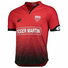Lotto Mens Gents Football Soccer Dijon FCO Home Shirt Jersey Top 2016-17