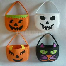 CHILDRENS KIDS HALLOWEEN TRICK OR TREAT CANDY SWEETS PARTY LOOT BAG