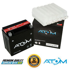 Atom YTX14-BS YTX14BS Motorcycle Battery Triumph Trophy 1200 00-06