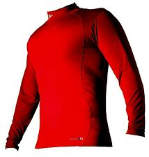 PRECISION TRAINING TURTLE NECK RED LONG SLEEVE BASE LAYER  TOP BNWT
