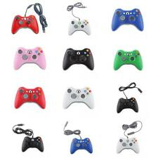 2.5m Classic USB Wired Wireless Vibration Gamepad Controller for Xbox 360 PC