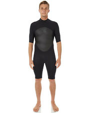 New Xcel Surf Men's Axis Springsuit 2Mm Quick-Dry Stretch Neoprene Black