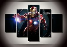 HD Canvas Print Home Decor Wall Art Painting for Room Decor Marvel Iron Man 5p