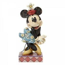 DISNEY TRADITIONS-PERFECT SWEETHEART RETRO MINNIE MOUSE-4045246-NEW-BOXED