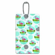 Luggage Card Suitcase Carry-On ID Tag Birds and Raptors