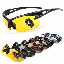 Mens Womens UV400 Sport Glasses Outdoor Driving Cycling Bike Eyewear Sunglasses