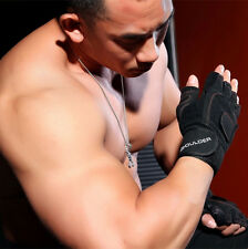 US Seller Weight Lifting Work Out Gloves Gym Wrist Wrap Sports Fitness Gym