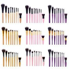 9pcs Makeup Brush Set Powder Professional Foundation Eyeshadow Eyebrow Brushes
