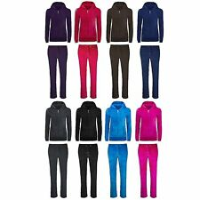 NEW 8 Colors Women Velvet Sweatsuit Outfit Jacket Pants ALL SIZES Hoodie Sweats