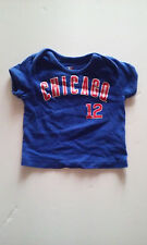 MLB CHICAGO CUBS #12 Soriano toddler6/9mo. blue t-shirt World Series Cubbies