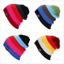 Multi - Color Grid Woven Wool Hat Autumn And Winter Warm Ski Cap Knit Hat