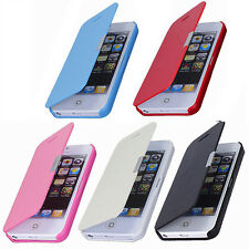 Magnetic Flip Leather Hard Skin Pouch Case Cover For Apple iPhone 5S 5G Gracious
