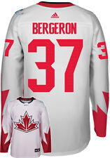 Patrice Bergeron Team Canada World Cup Of Hockey Adidas Premier Away Jersey