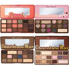 Too Faced Chocolate Bar & Bon Bons & Semi Sweet Peach Eyeshadow Palette Set Kit