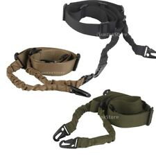 Tactical 2 Dual-Point Adjustable Hunting Rifle Shotgun Sling Bungee Strap Cord